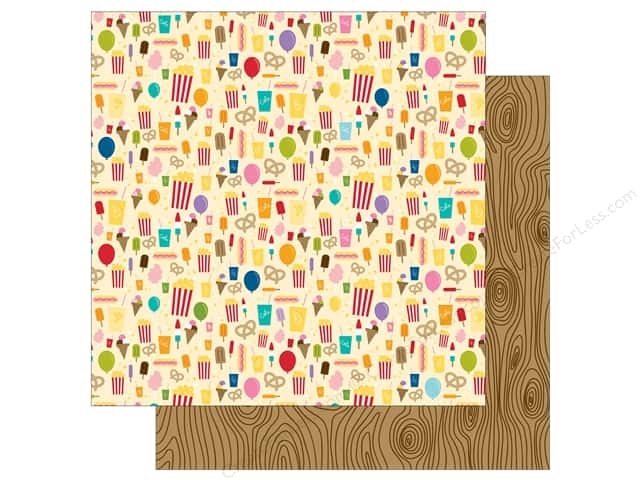 Bella Blvd 12 x 12 in. Paper Zoo Crew Snack Time (25 sheets)