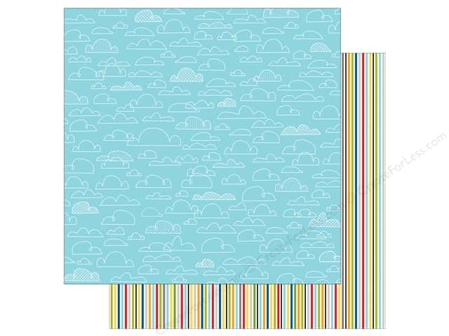 Bella Blvd 12 x 12 in. Paper Let's Go Perfect Weather (25 sheets)