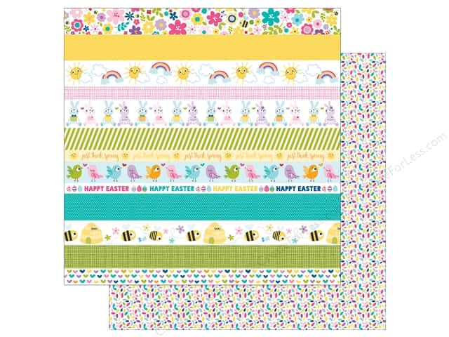 Bella Blvd 12 x 12 in. Paper Sweet Sweet Spring Borders (25 sheets)