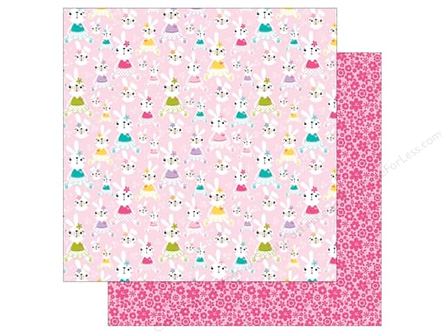 Bella Blvd 12 x 12 in. Paper Sweet Sweet Spring Her Bunny Hop (25 sheets)
