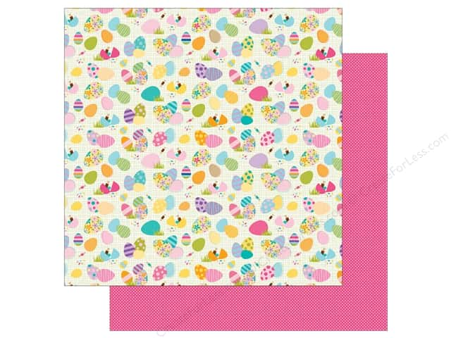 Bella Blvd 12 x 12 in. Paper Sweet Sweet Spring To Dye For (25 sheets)