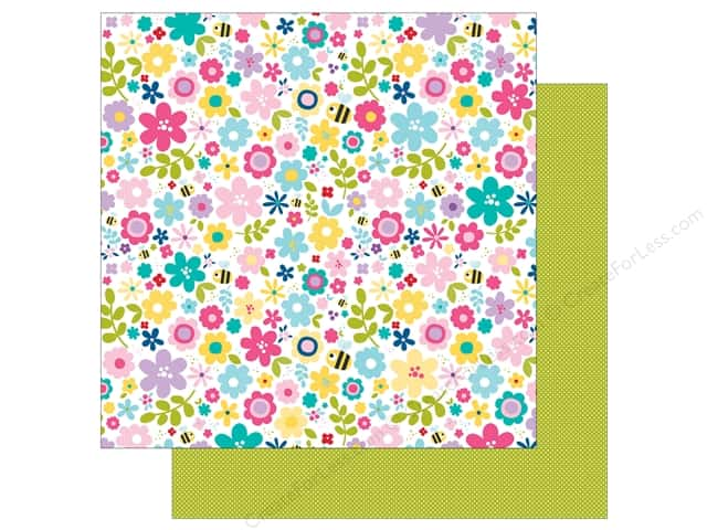 Bella Blvd 12 x 12 in. Paper Sweet Sweet Spring Bloomin Beauties (25 sheets)