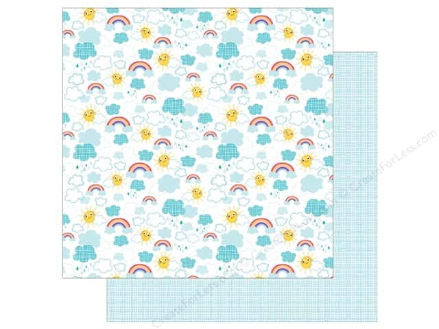 Bella Blvd 12 x 12 in. Paper Sweet Sweet Spring Easy Breezy (25 sheets)