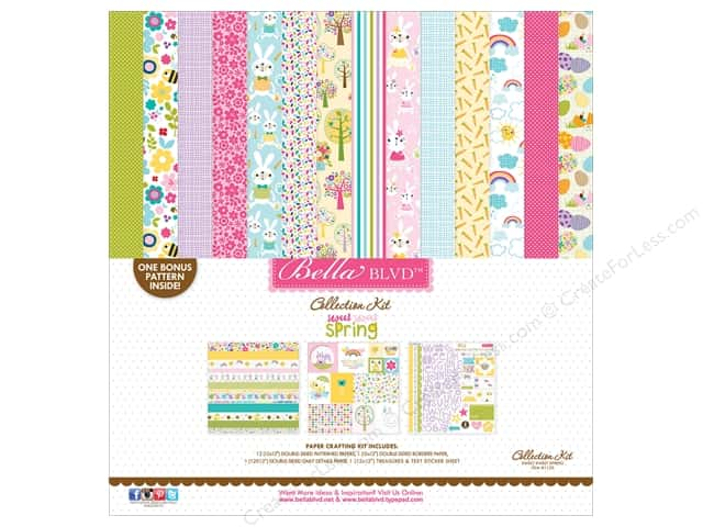 Bella Blvd 12 x 12 in. Collection Kit Sweet Spring