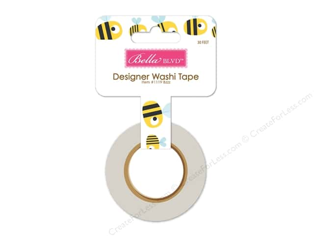 Bella Blvd Washi Tape Sweet Spring Bzzz
