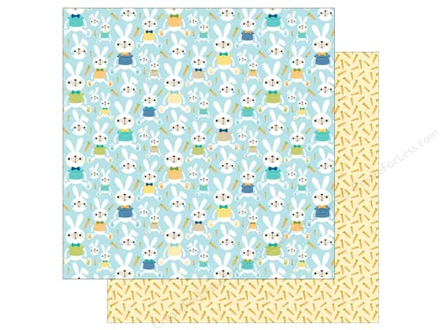 Bella Blvd 12 x 12 in. Paper Sweet Sweet Spring His Bunny Hop (25 sheets)
