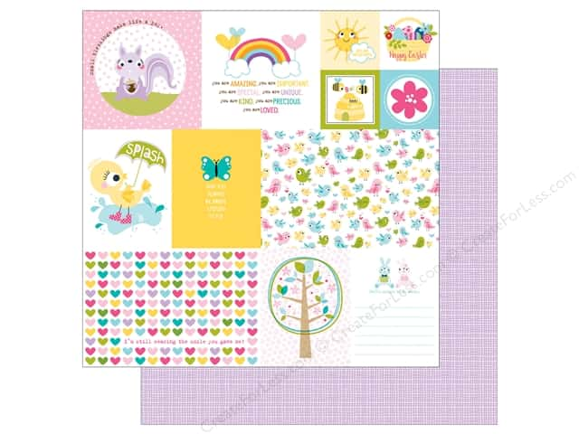 Bella Blvd 12 x 12 in. Paper Sweet Sweet Spring Daily Details (25 sheets)