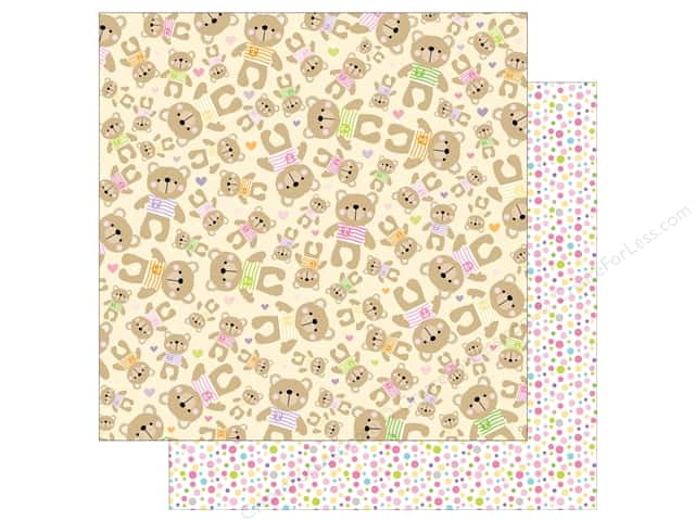 Bella Blvd 12 x 12 in. Paper Sweet Baby Girl Mrs. Teddy (25 sheets)