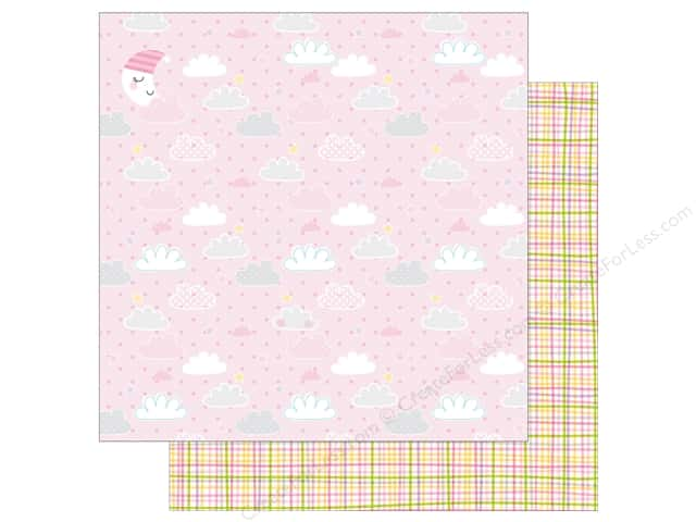 Bella Blvd 12 x 12 in. Paper Sweet Baby Girl Just A Wink (25 sheets)