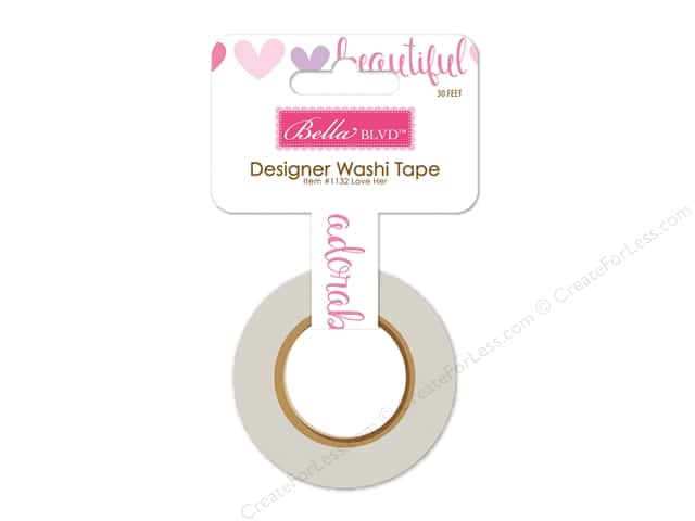 Bella Blvd Washi Tape Sweet Baby Girl Love Her