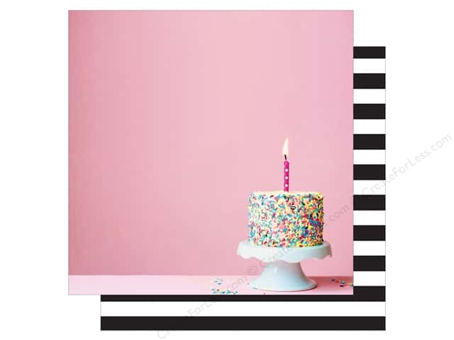 Webster's Pages 12 x 12 in. Paper Make A Wish Eat Cake (25 sheets)