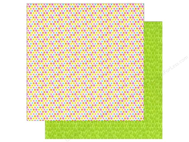 Doodlebug 12 x 12 in. Paper Spring Garden Itty Bitty Blooms (25 sheets)
