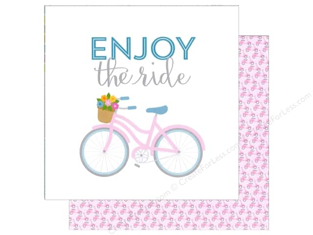 Doodlebug 12 x 12 in. Paper Spring Garden Joy Ride (25 sheets)
