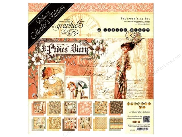 Graphic 45 Deluxe Collectors Edition Ladies Diary