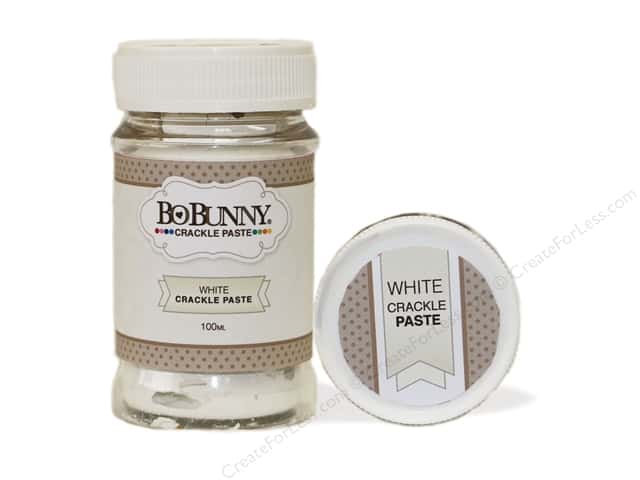 Bo Bunny Crackle Paste 3.4 oz. White