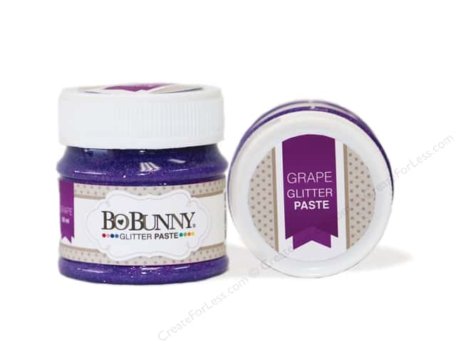 Bo Bunny Glitter Paste 1.69 oz. Grape