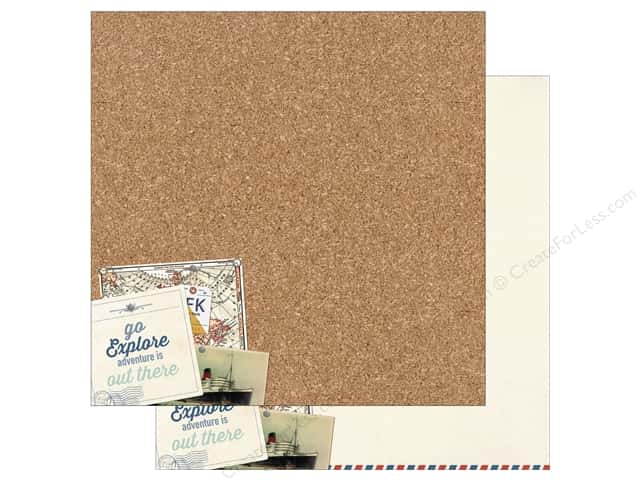 Authentique 12 x 12 in. Paper Explore One (25 sheets)