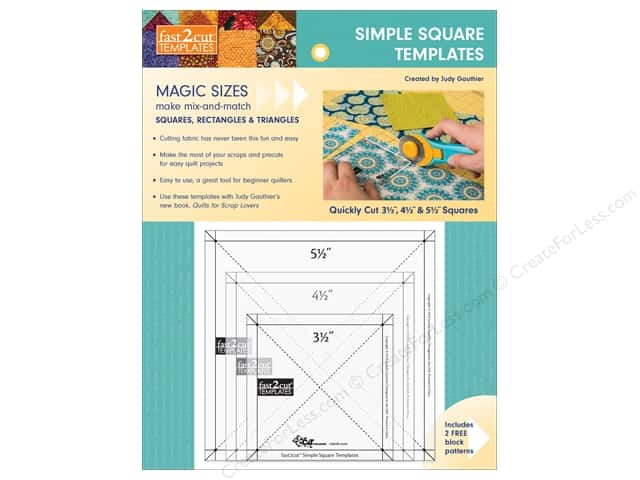C&T Publishing Fast2Cut Template Simple Square