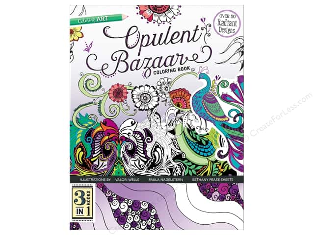 C&T Publishing Opulent Bazaar Coloring Book