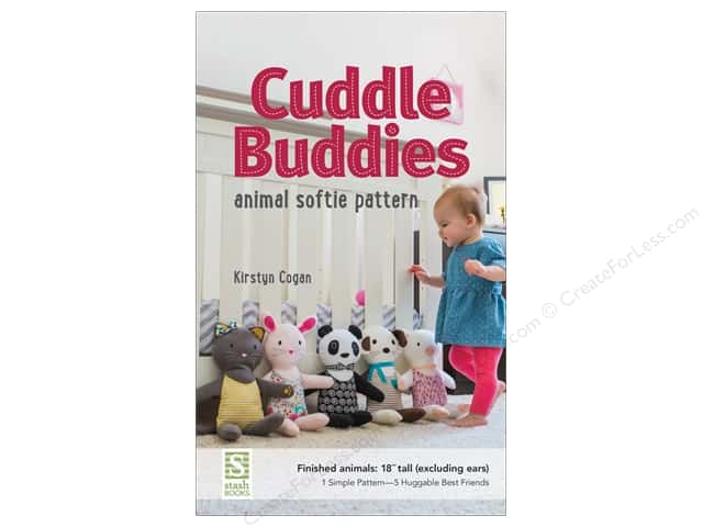 Stash By C&T Cuddle Buddies Pattern