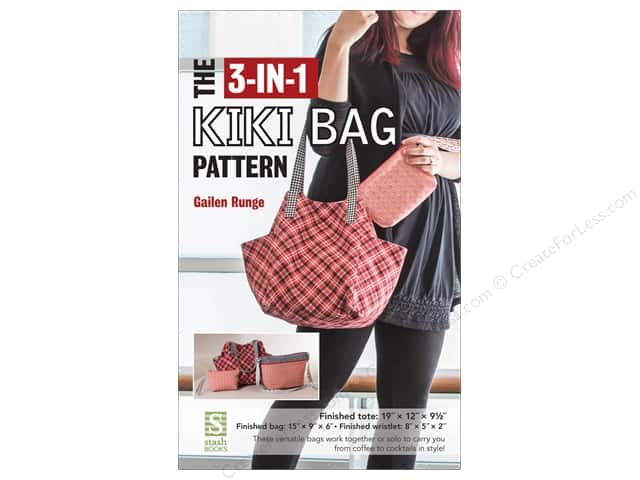 Stash By C&T 3-in-1 Kiki Bag Pattern