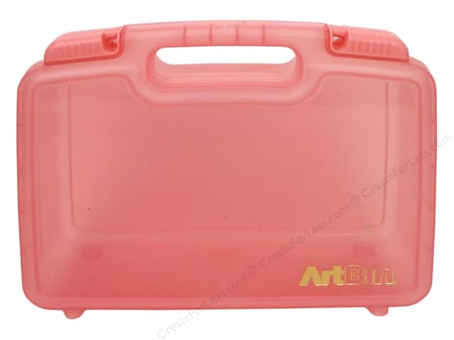 ArtBin Quick View Deep Carrying Case 12 in. Coral