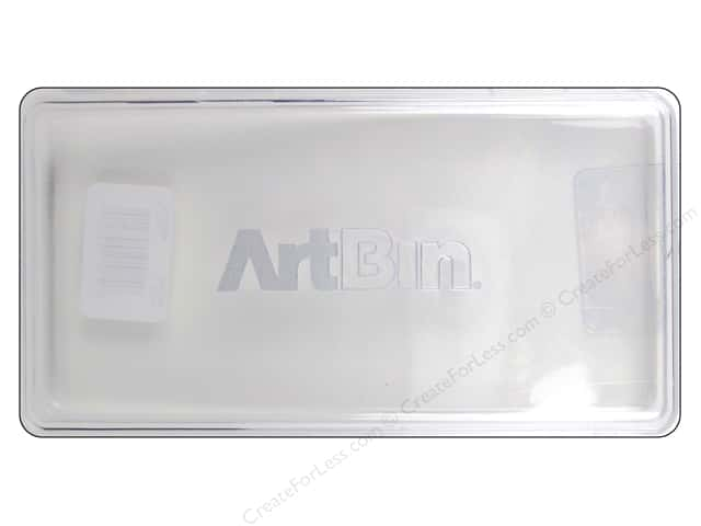 ArtBin Slim Line Pencil Box Clear
