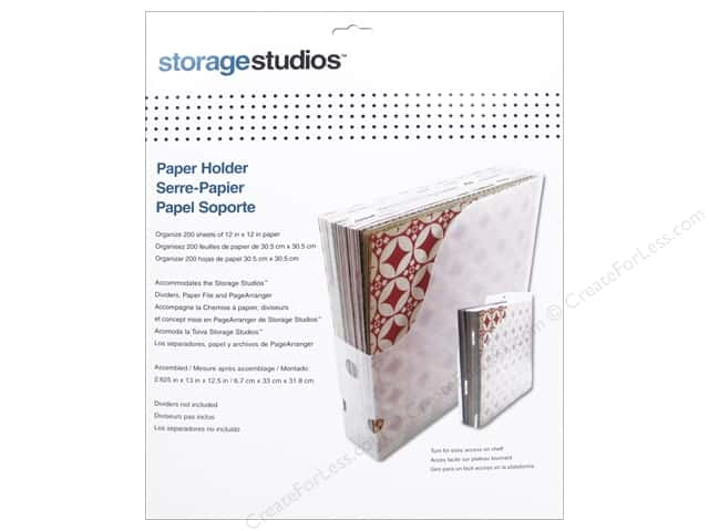 Storage Studios Organizers 12 x 12 in. Paper Holder