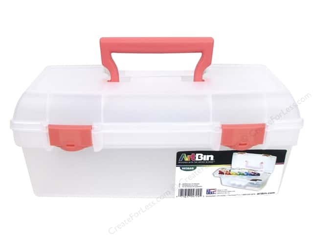 ArtBin Essentials Lift-Out Tray Box Coral