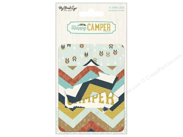 My Mind's Eye Collection Happy Camper Journal Cards