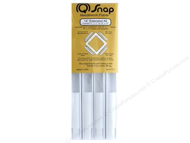 Q Snap Needlework Frame Extension Kit 14""