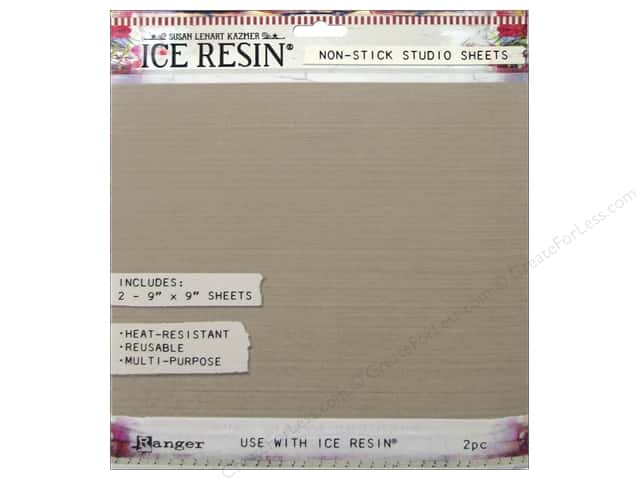 Ranger ICE Resin Studio Sheets 9 x 9 in. 2 pc.