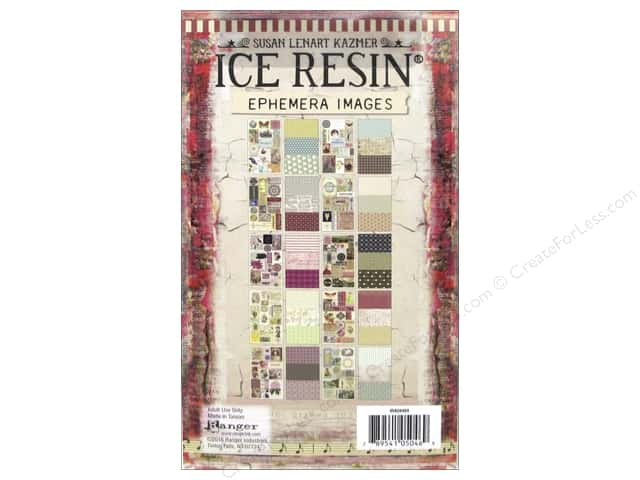 Ranger ICE Resin Ephemera Image Assortment