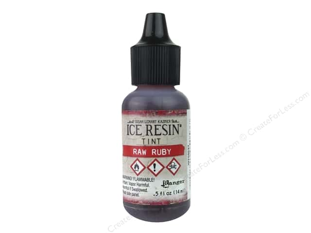 Ranger ICE Resin Tints Raw Ruby
