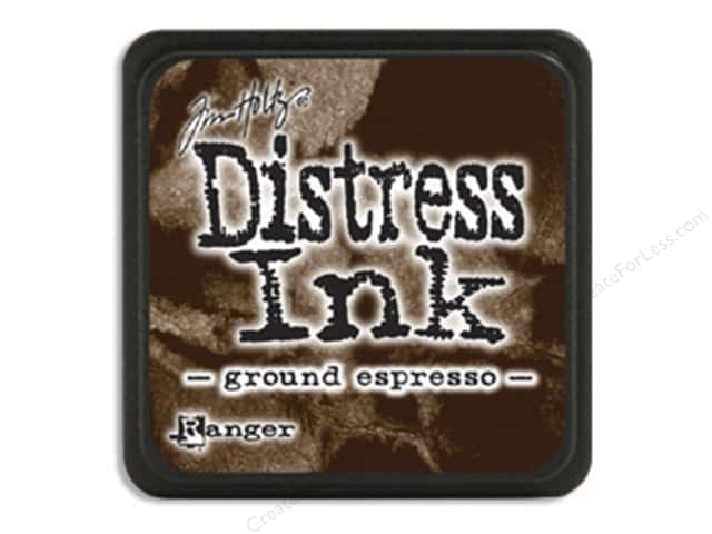 Tim Holtz Distress Mini Ink Pad by Ranger Ground Espresso