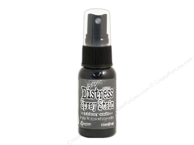 Tim Holtz by Ranger Distress Stain Spray 1 oz. Hickory Smoke