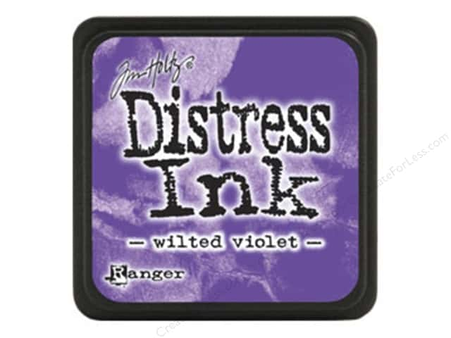 Tim Holtz Distress Mini Ink Pad by Ranger Wilted Violet
