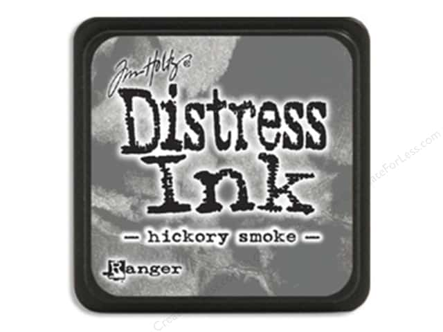 Tim Holtz Distress Mini Ink Pad by Ranger Hickory Smoke