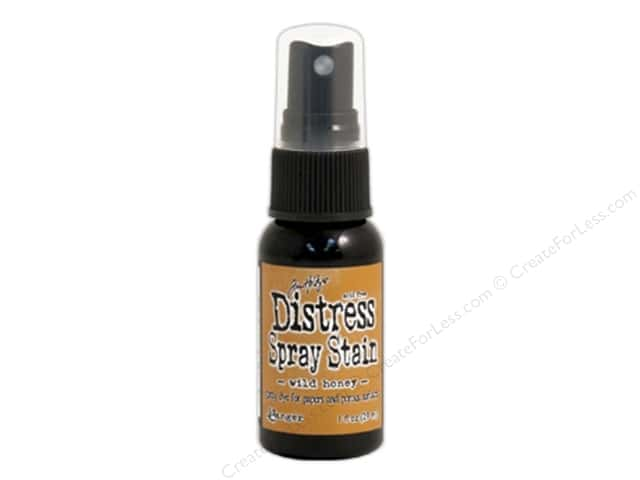 Tim Holtz by Ranger Distress Stain Spray 1 oz. Wild Honey
