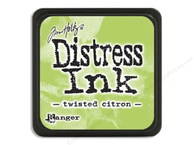 Tim Holtz Distress Mini Ink Pad by Ranger Twisted Citron