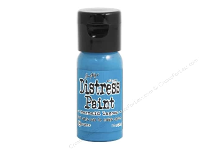 Tim Holtz Distress Paint by Ranger 1 oz. Mermaid Lagoon