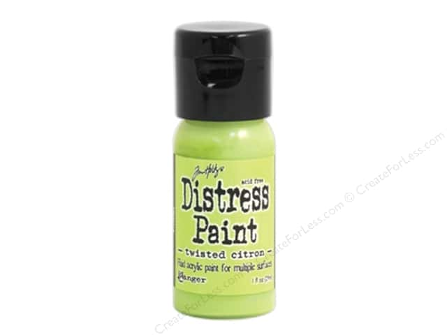Tim Holtz Distress Paint by Ranger 1 oz. Twisted Citron