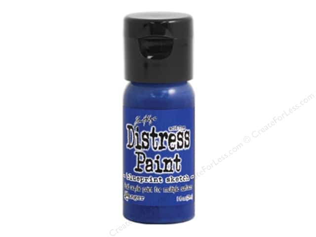 Tim Holtz Distress Paint by Ranger 1 oz. Blueprint Sketch