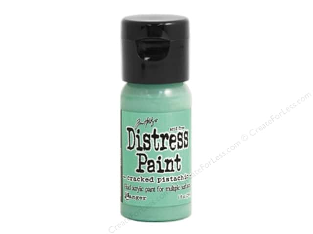 Tim Holtz Distress Paint by Ranger 1 oz. Cracked Pistachio