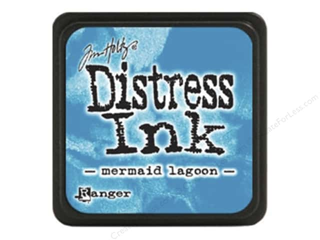 Tim Holtz Distress Mini Ink Pad by Ranger Mermaid Lagoon