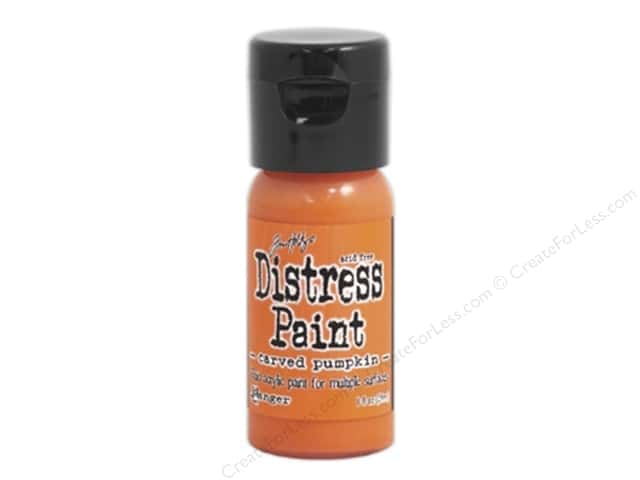 Tim Holtz Distress Paint by Ranger 1 oz. Carved Pumpkin
