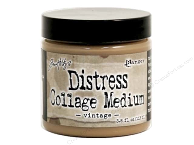 Tim Holtz Distress Collage Medium by Ranger 3.8 oz Vintage