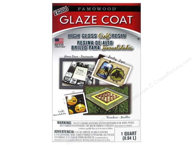 Famowood Craft Glaze Coat Kit Quart