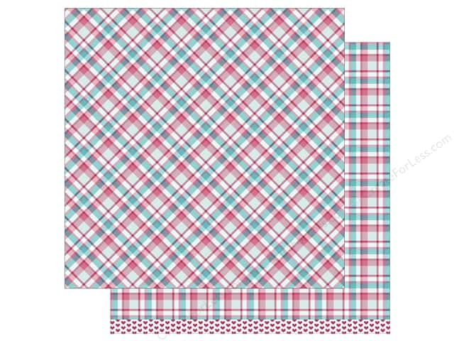 Lawn Fawn 12 x 12 in. Paper Perfectly Plaid Lynette 12 pc. (12 sheets)