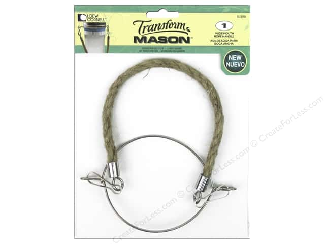 Loew Cornell Transform Mason Rope Handle Wide Mouth